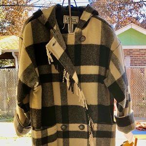 LL Bean Blanket Coat